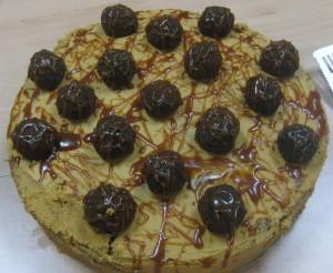 Salted Caramel Truffle Cake