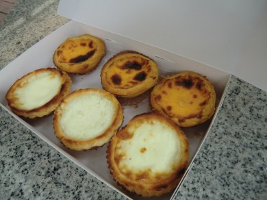 Actual Portuguese Tarts bought in Macau (January 2012)