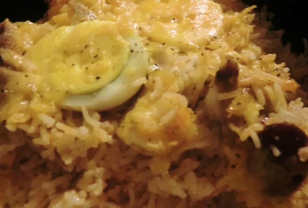 Macau 'Portuguese' Baked Rice (1/4)