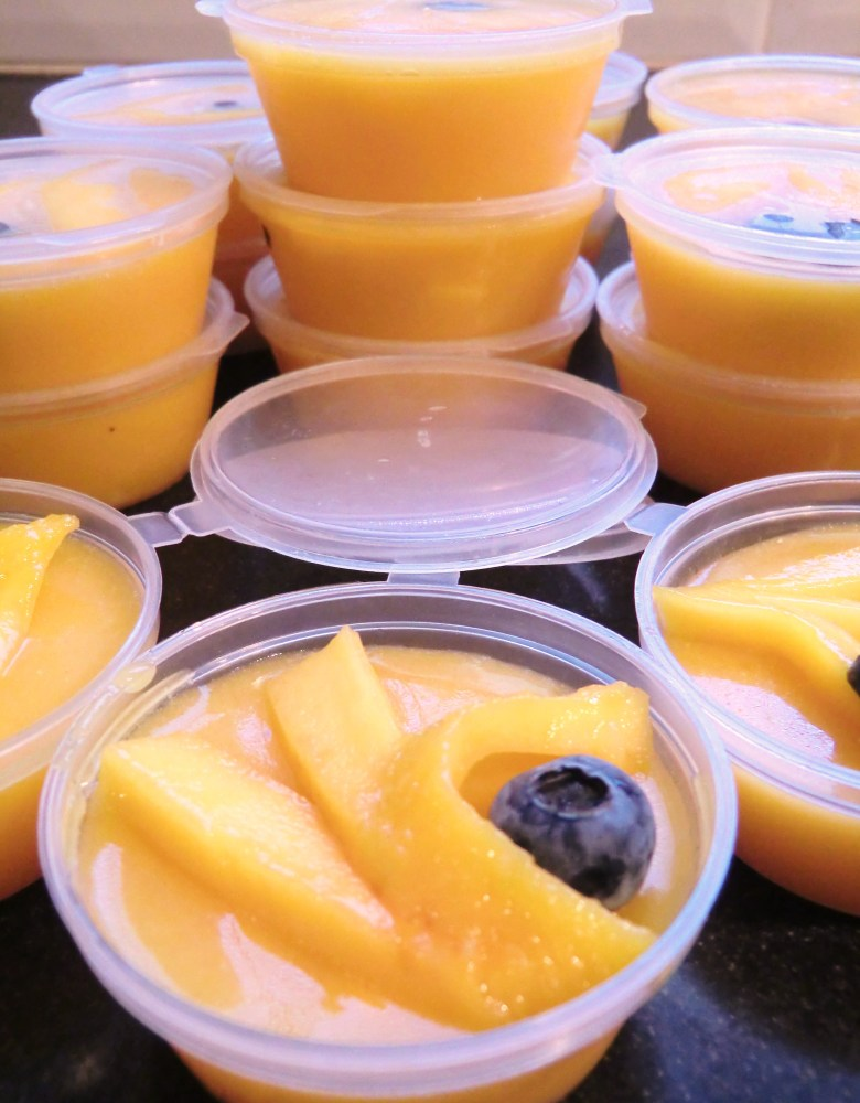 Mango and Coconut Pudding: A lighter dessert after a heavy Chinese New Year meal (6/6)