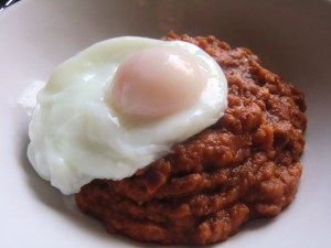 Ful Medammes and Poached Egg