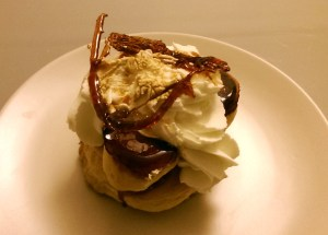 Caramel Profiteroles from Nice, France