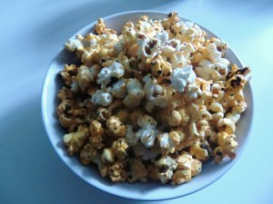 Spicy and Sweet Popcorn