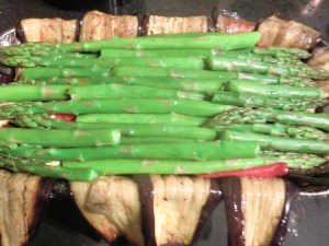 Vegetable Terrine-  Asparagus Layer
