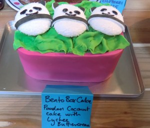 Bento Box Cake
