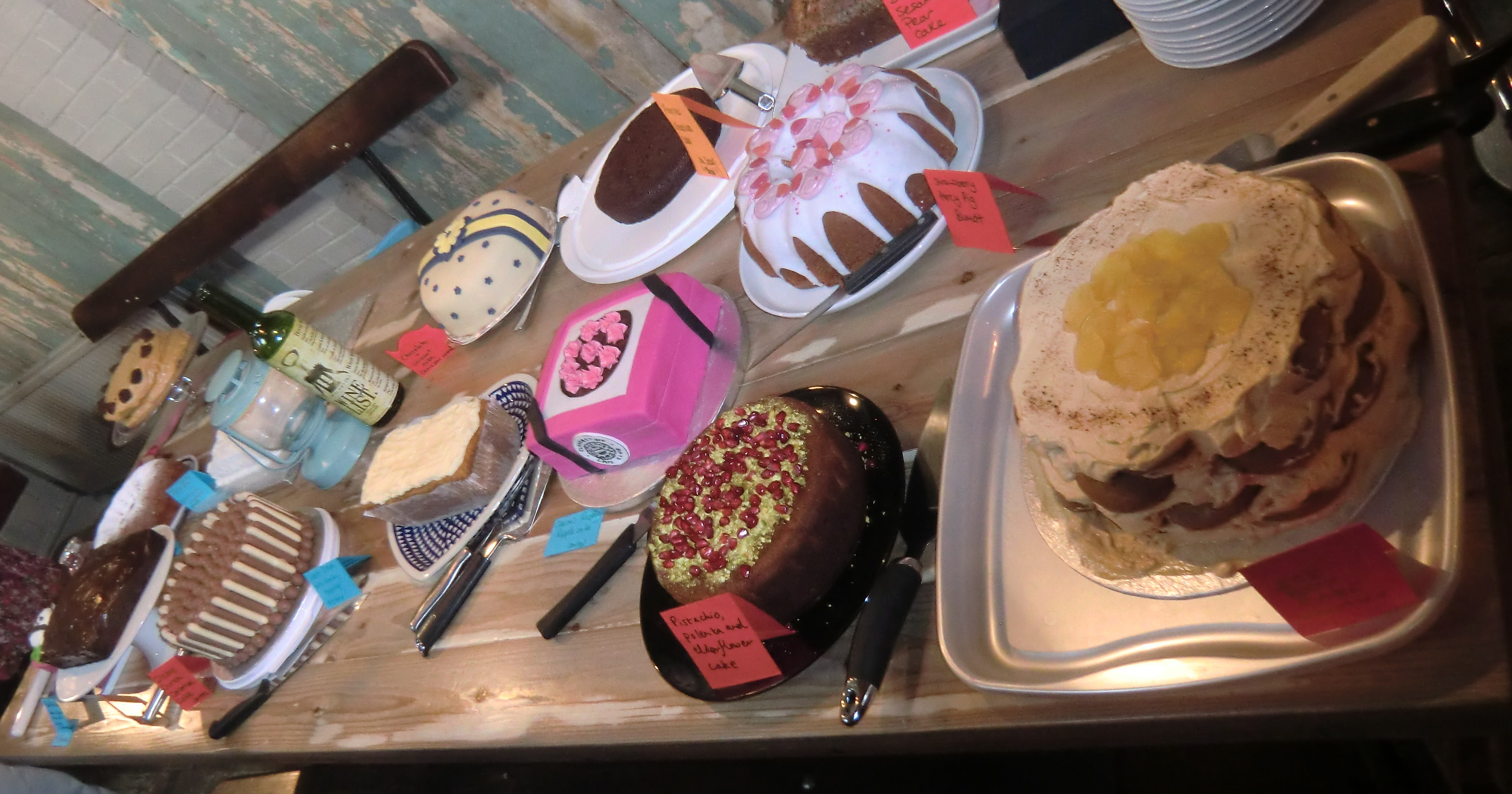 Black Sesame and Pear Cake: Clandestine Cake Club meet No.3 | tea and ...