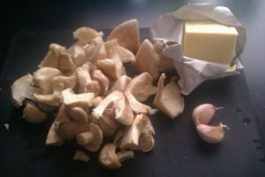 Garlic Butter Wild Mushrooms
