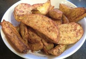 Spiced Potato Wedges