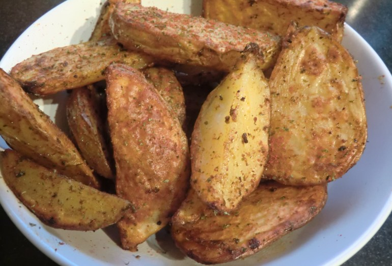 Spicey Potato Wedges
