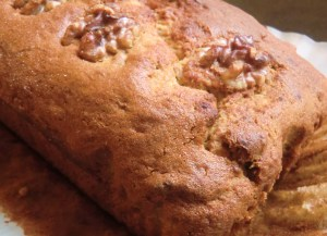 Banana and Walnut Loaf