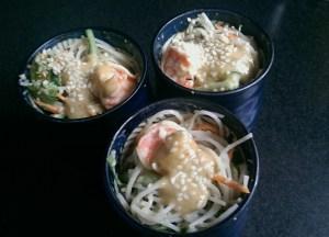 Thai Style Prawn Noodle Salad