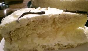 Coconut Cream and Pineapple Cake