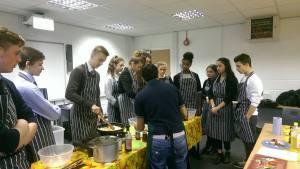 CGF School Cooking Class
