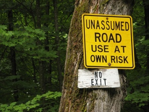 Unassumed Road