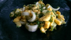 Mango and Avocado Salsa