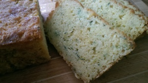 Courgette and Lemon Loaf