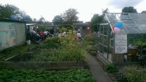 Communal growing of food