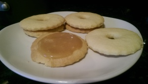 Almond Shortbread Biscuit