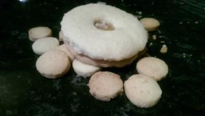Almond Shortbread Biscuit 'holes'