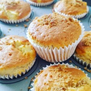 Apple and Cardamom Muffins