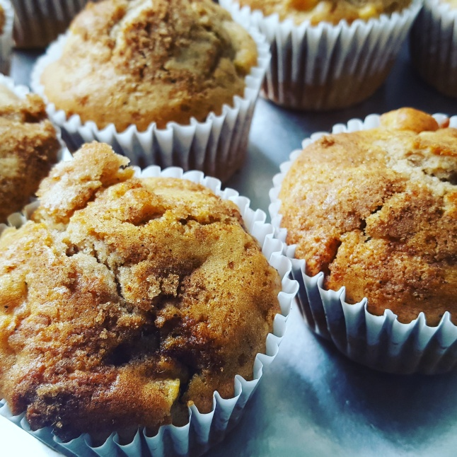 Apple and Cinnamon Muffins